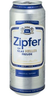 Zipfer beer (skar.)