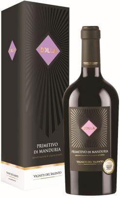 Vigneti Del Salento Zolla Primitivo Di Manduria DOP 1,5L (dėž.)