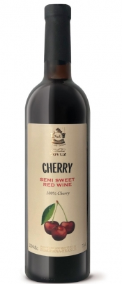 Tovuz Cherry Red Semi Sweet wine
