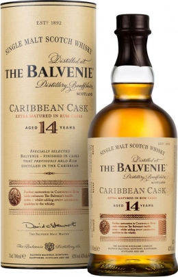 The Balvenie Carribean Cask 14 YO