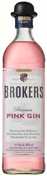 Broker's Pink Gin
