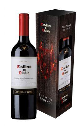 Casillero Del Diablo Cabernet Sauvignon (dėž.)